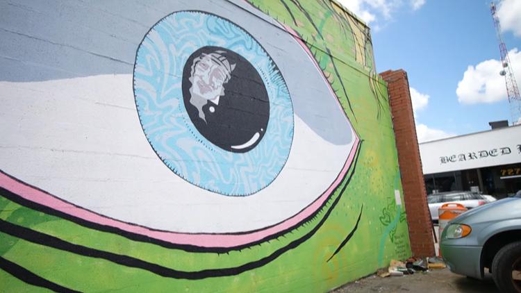 Hampton Roads Creative Culture Eye Mural
