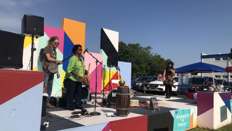 Virginia Beach ViBe District commemorates Juneteenth through music and poetry