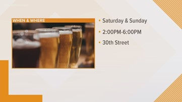 Sample more than 60 beers at the Virginia Beach Craft Beer Festival