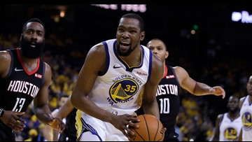 What was the deal with Kevin Durant's achilles heel