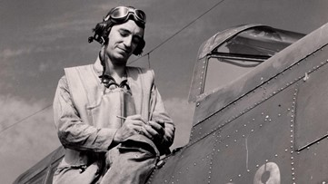 Unsung hero from WWII remembered in book, on TV