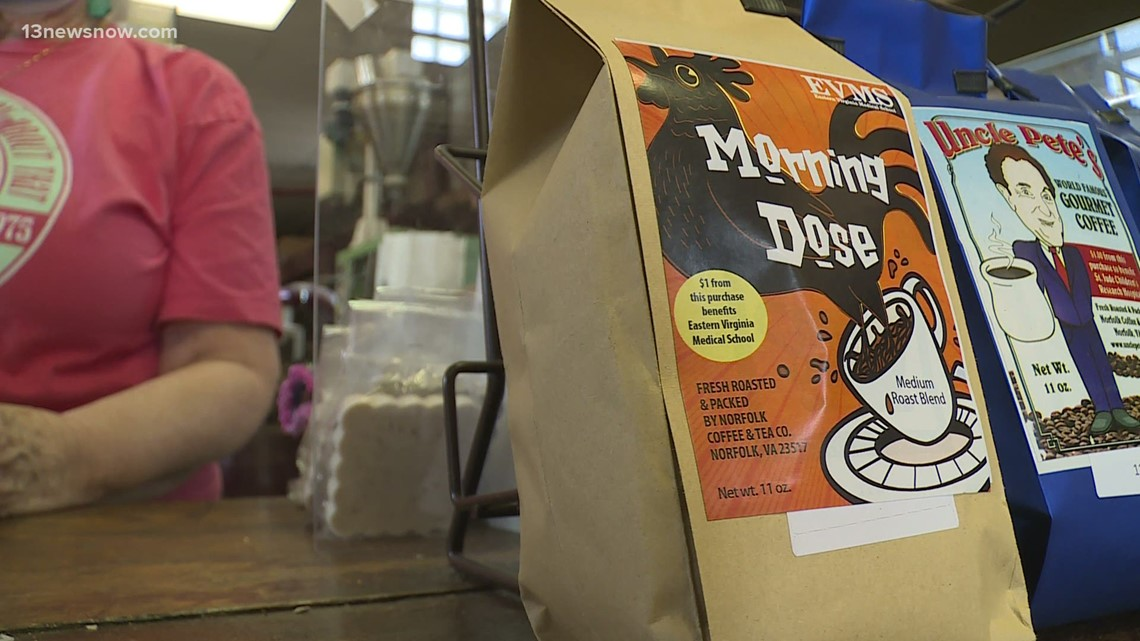 Norfolk coffee shop creates special blend for EVMS