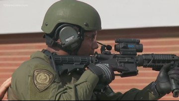 First responders in Suffolk hold active shooter drill