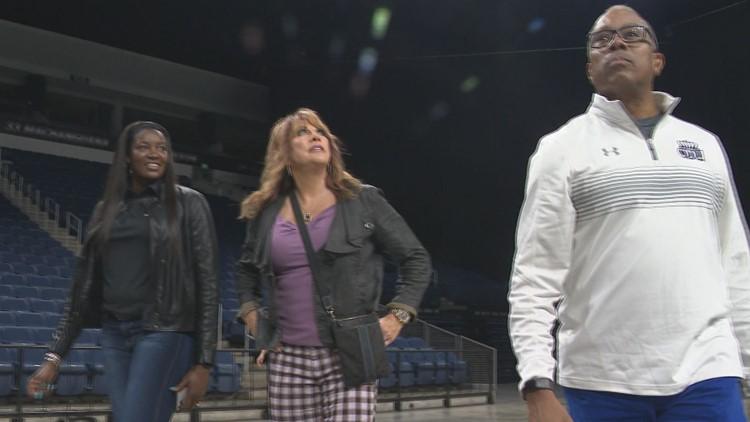 ODU's Milton-Jones has a pair of famous alumni for hoops kick off