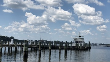 High tide flooding prediction paints concerning future for local military presence
