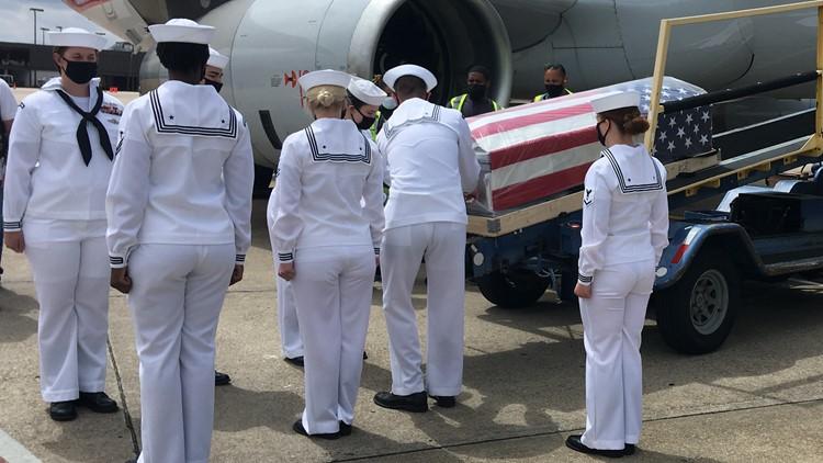 Pearl Harbor hero finally returns, eight decades later