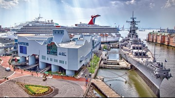 New areas of Battleship Wisconsin opening to the public