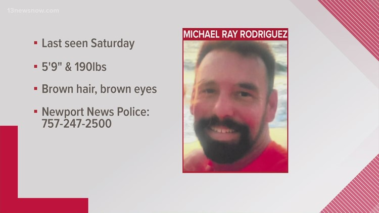 Police Search for Missing 44-Year-Old Man from Newport News