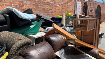 Poquoson thrift shop dealing after hours drop-offs, forced to throw much away