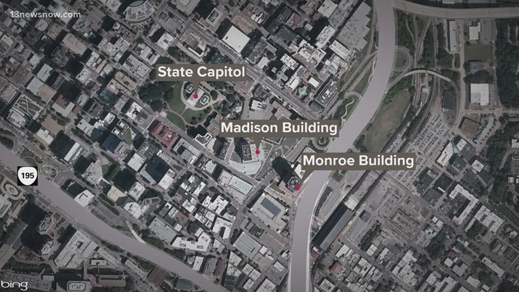 Report of suspicious person near Virginia Capitol