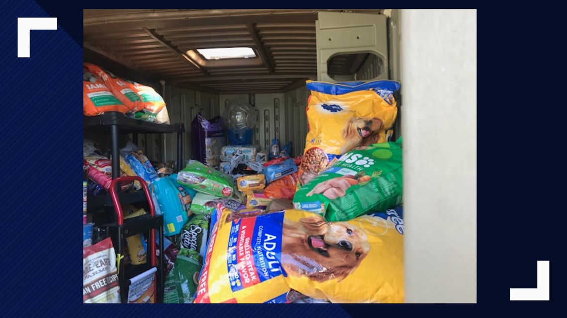 Pet food pantry provides help to furloughed workers