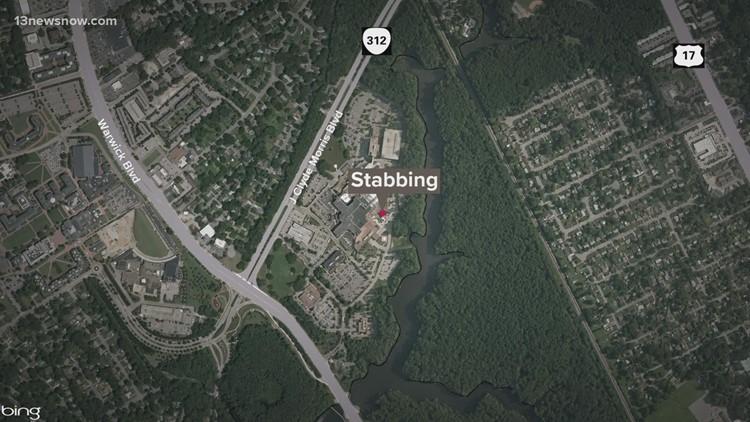 Police Investigate Stabbing on J-Clyde Blvd. in Newport News