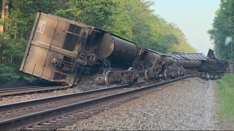 Amtrak to restore service on Thursday after coal train derails in Great Dismal Swamp; environmental concerns remain