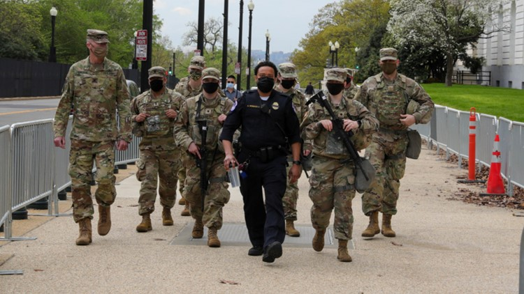 Military response during Capitol riot questioned