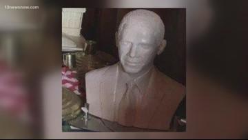 Barack Obama bust vanishes from Williamsburg farm