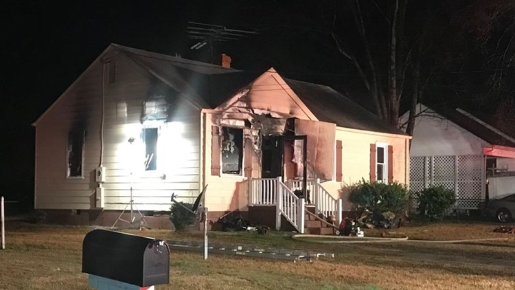 One person hurt in house fire in York County
