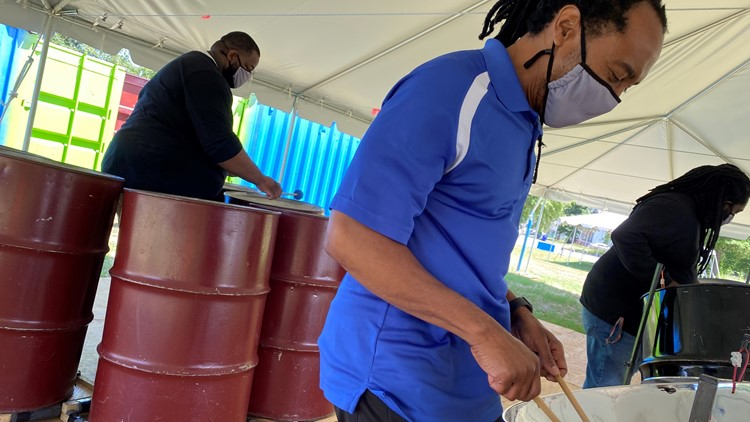 Give Local 757: Mosaic Steel Orchestra