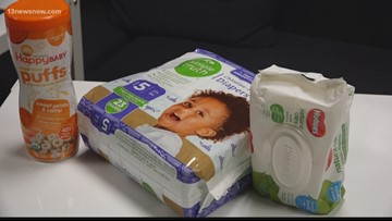 Donations needed for 'baby pantry' helping furloughed workers