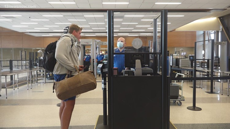 Travel picking up at Norfolk International Airport