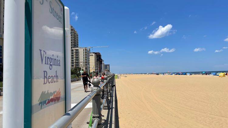 People flock to Virginia Beach Oceanfront ahead of Independence Day