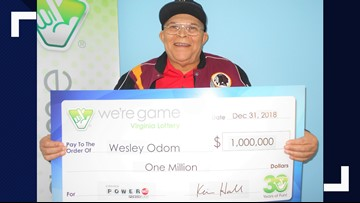 Suffolk man becomes millionaire