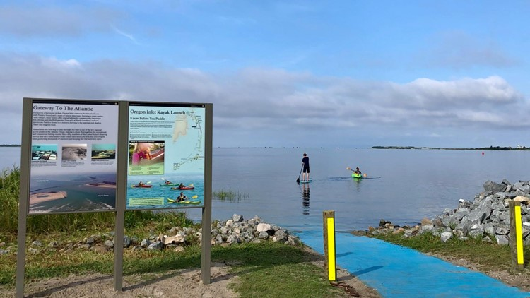 Kayak launch opens at Cape Hatteras National Seashore in Outer Banks