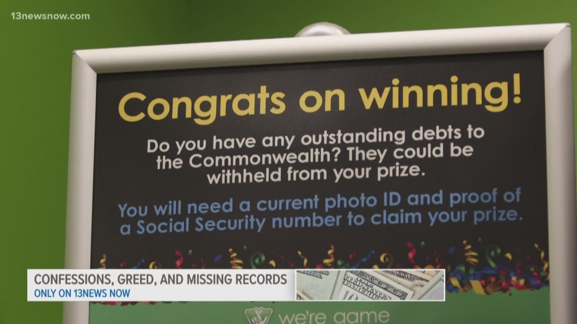 Hampton Woman Discovers Boss Forged Her Identity On Winning Lotto Tickets 13newsnow Com