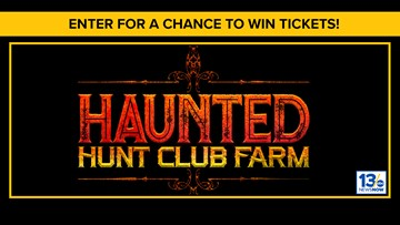 Haunted Halloween sweepstakes