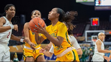 Spartan women's MEAC title hopes fade in finals