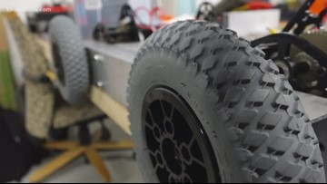 IN SESSION: Newport News students create fire range robots