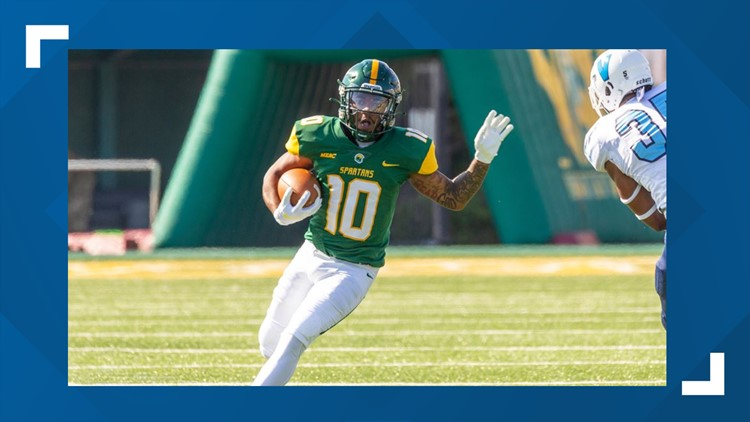 Spartans slay Dragons on homecoming for 4th straight win