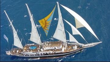 Uruguayan tall ship Capitan Miranda returns to downtown Norfolk