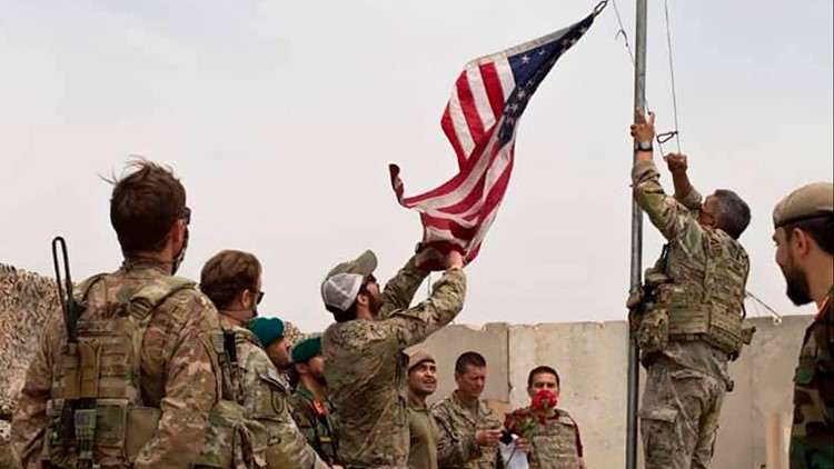 U.S. military proceeds with Afghanistan withdrawal