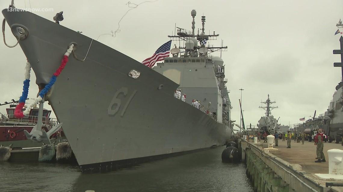 Local Navy Sailors Return Home After 9 Months