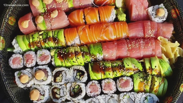 FRIDAY FLAVOR: Sushi AKA brings visitors to Suffolk