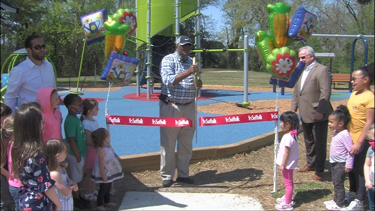 Suffolk opens its second inclusive playground