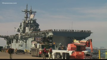 USS Kearsarge, USS Arlington deploy