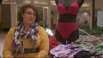 MAKING A MARK: Lingerie department manager collects bras for women in local shelters