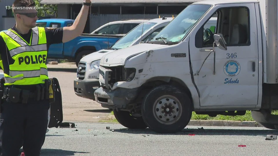 Campostella Road, S. Military Highway intersection closed after deadly crash
