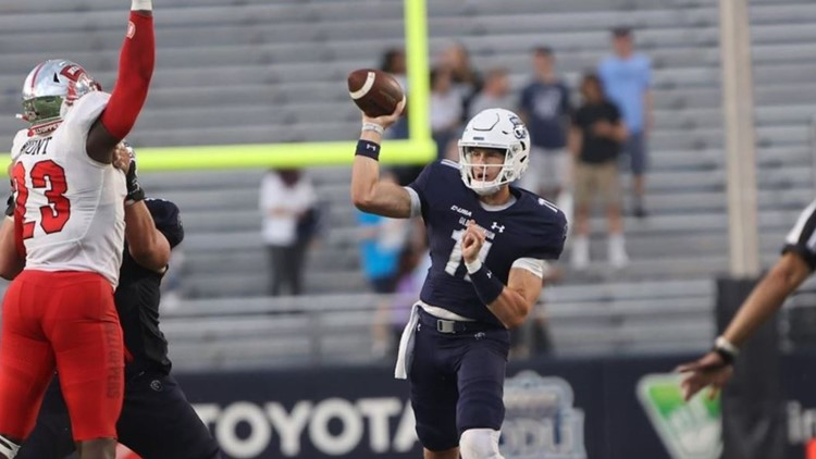 Wolff starts for ODU, but Monarchs fall 43-20 to WKU  on homecoming