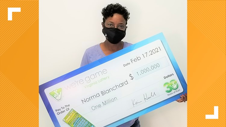 'I can't stop smiling!'   Virginia Beach woman wins $1 million in Virginia Lottery