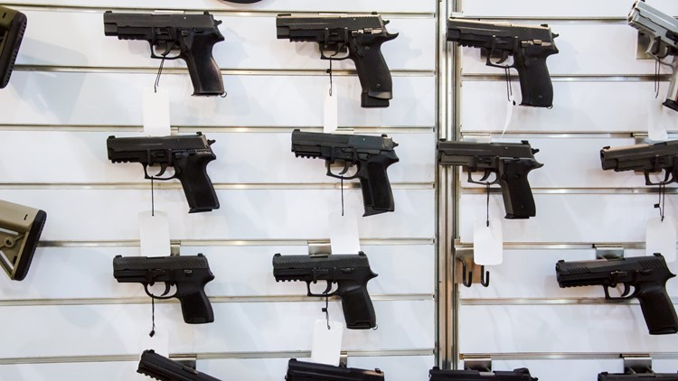 Firearms sales continue to rise in North Carolina