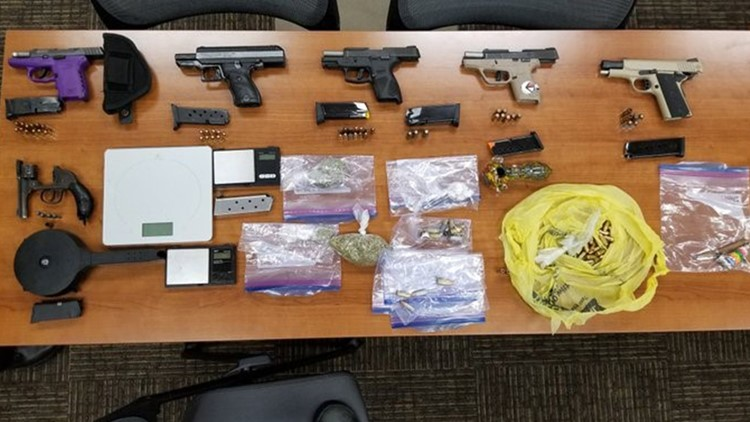 Drug bust made in Newport News, 9 people arrested