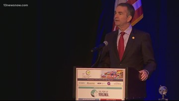 Northam announces trade plan, education grant during visit to Norfolk