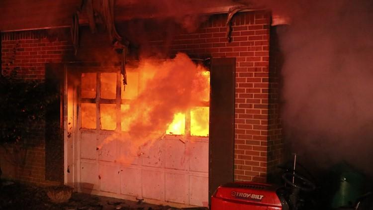 VBFD House Fire Photos