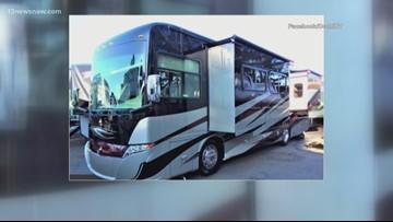 RV stolen from Hampton Roads Convention Center parking lot