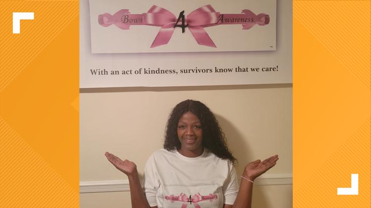 MAKING A MARK: Woman makes care kits for people with breast cancer