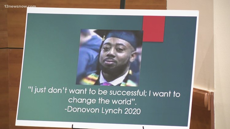 Donovon Lynch's family hosts symposium on social and economic injustice