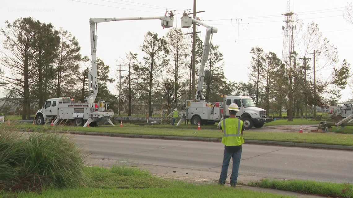 Two weeks after Hurricane Ida, many in south Louisiana still without power