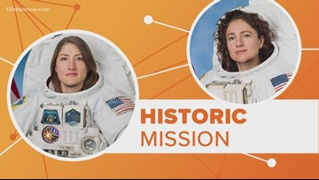 Connect the dots: NASA prepares for all-female spacewalk